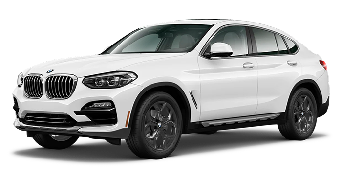 BMW X4 SAV in white color