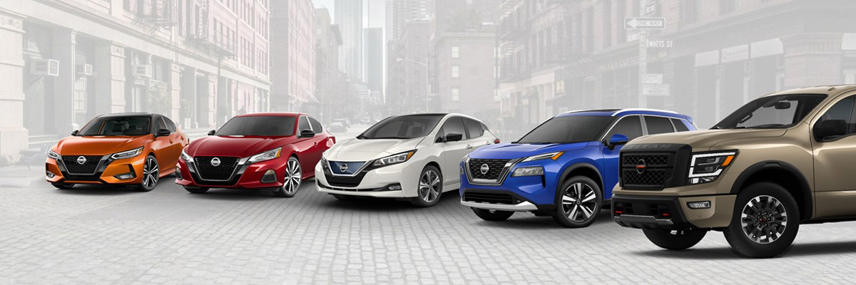 Nissan Altima, Sentra, Leaf, Rogue and Titan
